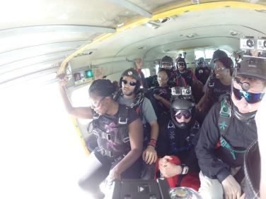 Pre skydiving