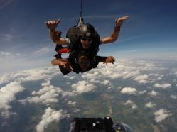Brenda skydive