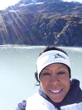 Mia selfie Alaska