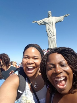 Lynch sisters in Rio de Janeiro.